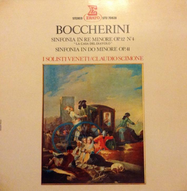 Sinfonia op.12 N.4 e op.41 - 12