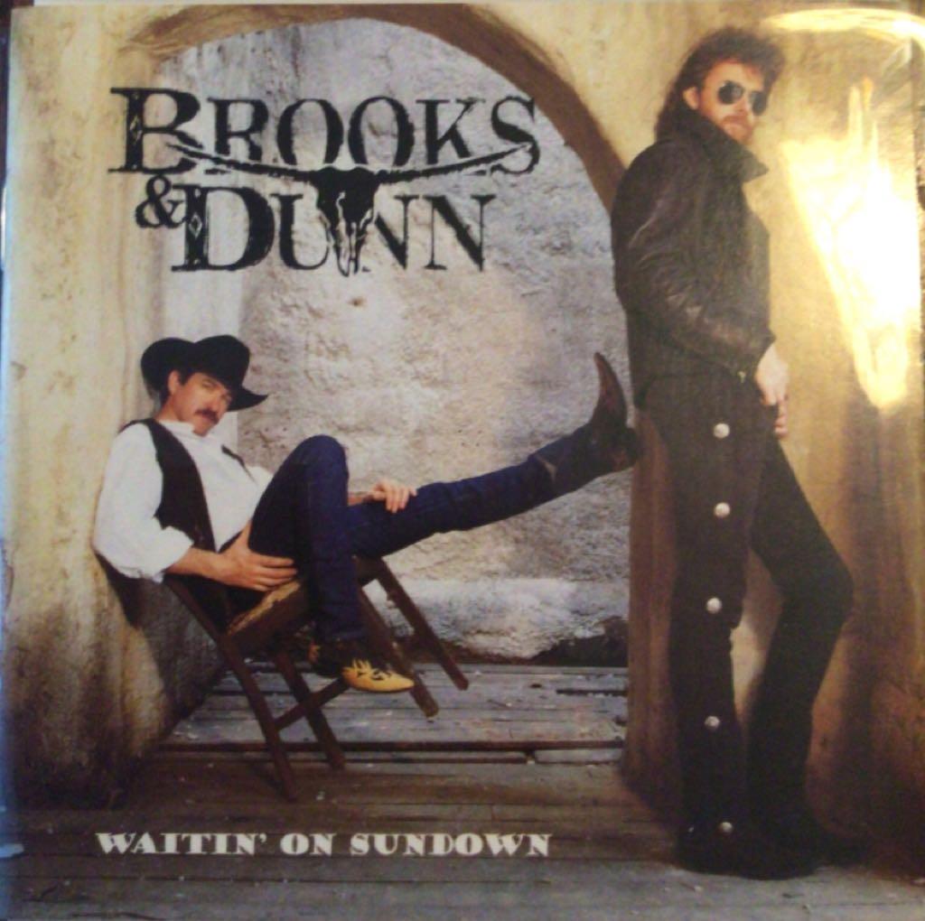 Brooks & Dunn Waitin - CD cover