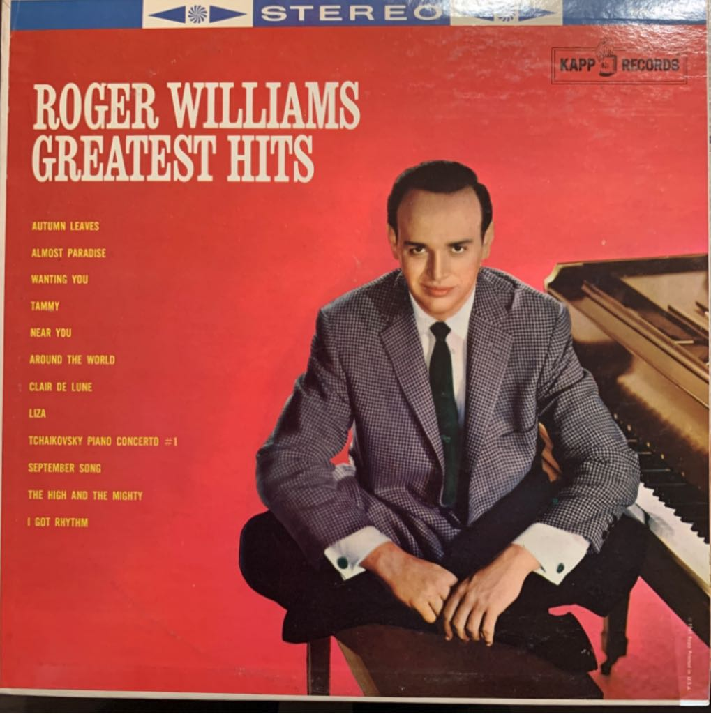 Greatest Hits - Roger Williams - 12