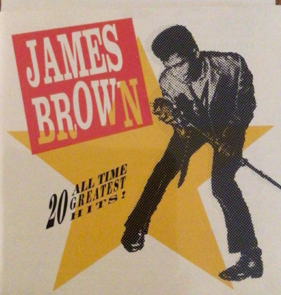 James Brown 20 All Time Hits - CD cover