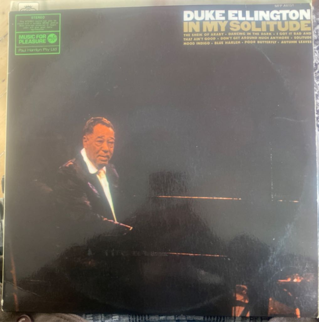 Duke Ellington In My Solitude -  cover