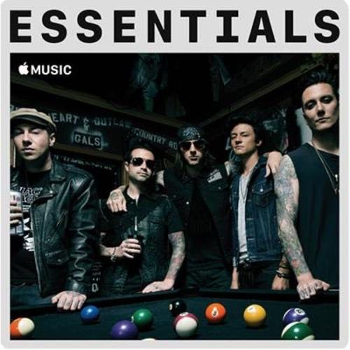 Avenged Sevenfold The Essentials - CD cover