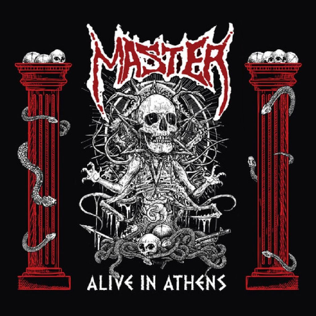 Alive In Athens - CD cover
