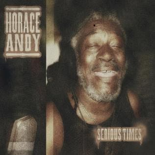 Horace Abndy Serious Times  - CD cover