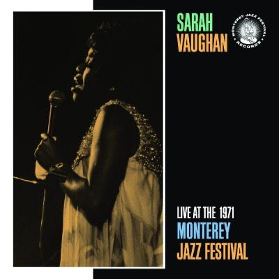 Live at the 1971 Monterey Jazz Festival - CD cover