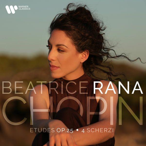 Chopin : Etudes op. 25 - 4 Scherzi - CD cover