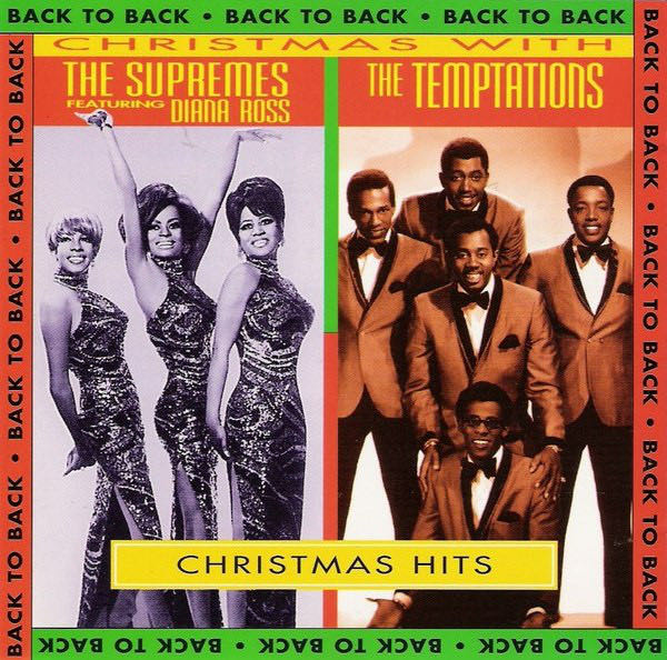 Christmas With The Supremes And The Temptations - CD cover