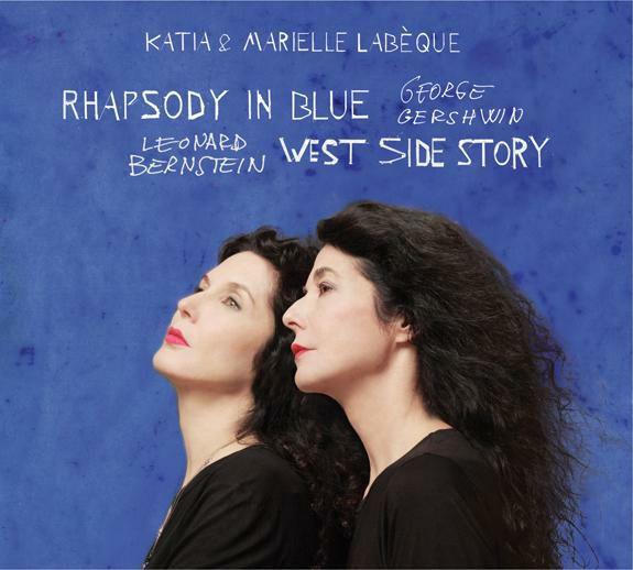 Rhapsody in Blue- West Side Story - CD cover
