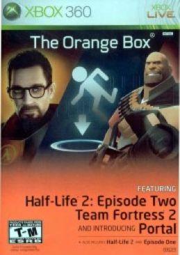 Half-Life 2: The Orange Box - Xbox 360 cover