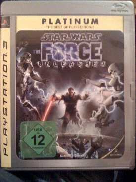 Star Wars: The Force Unleashed - PS3 cover