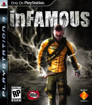 Infamous - PS3 cover