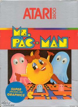 Ms. Pac-Man - Atari 2600 cover
