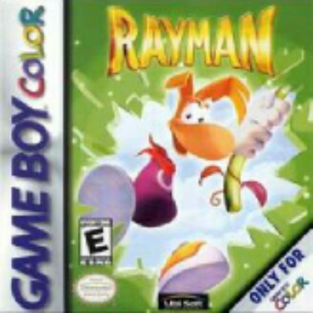 Rayman - Game Boy Color cover