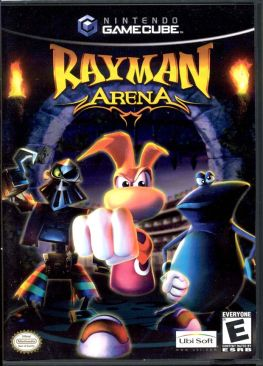 Rayman Arena - Gamecube cover