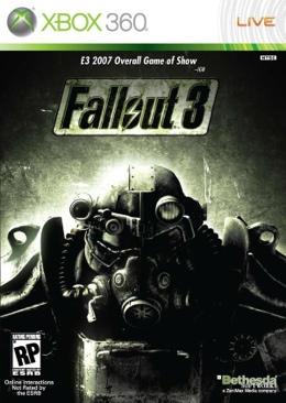Fallout 3 - Xbox 360 cover