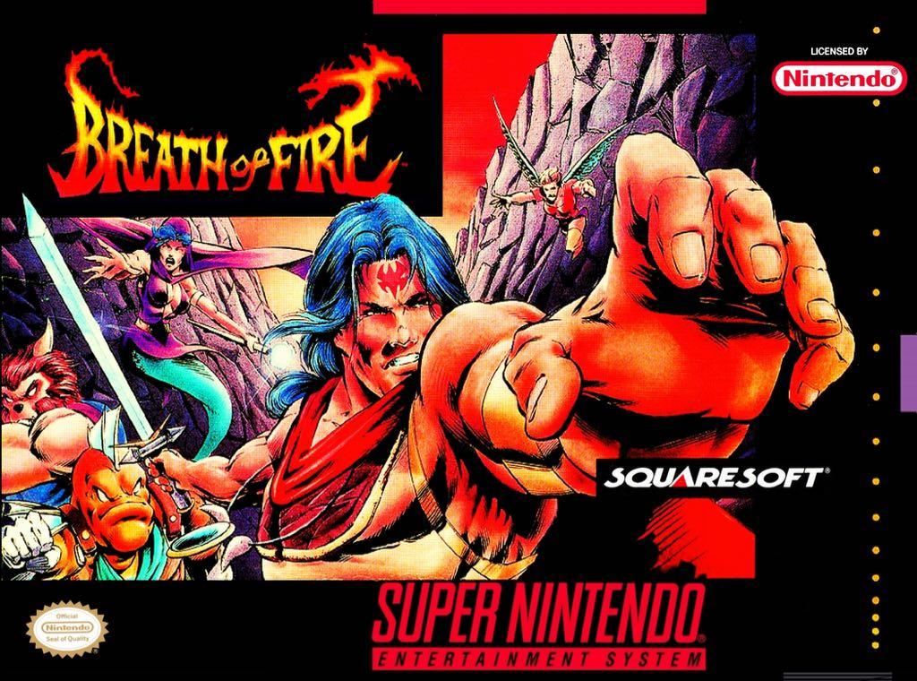 Breath Of Fire Repro - Super Nintendo cover