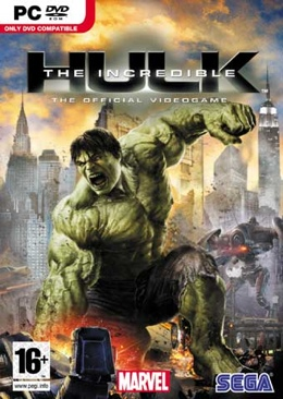 The Incredible Hulk - PC cover
