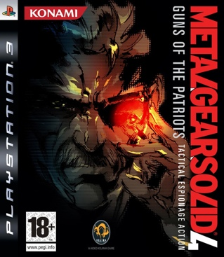 Metal Gear Solid 4: Guns of the Patriots - PS3 cover