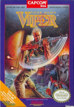 Code Name Viper - NES cover