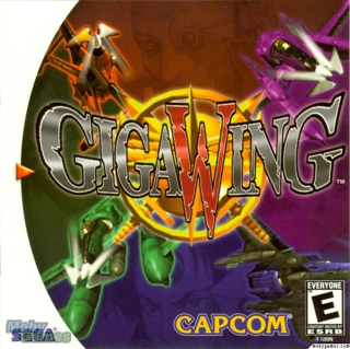 Giga Wing - Arcade cover
