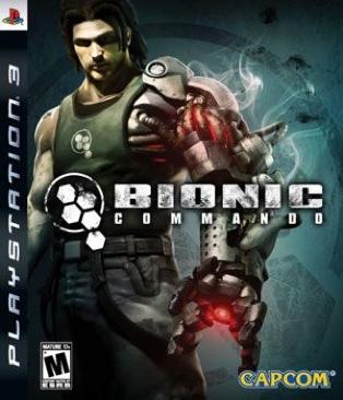 Bionic Commando - PS3 cover