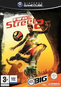 FIFA Street 2 - Gamecube cover