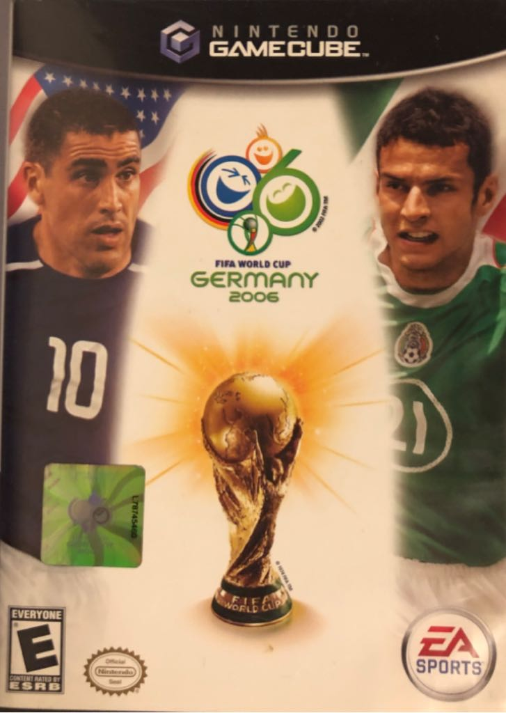F.I.F.A. World Cup Germany 2006 - Gamecube cover