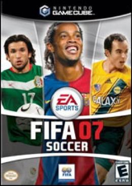 F.I.F.A. '07 - Gamecube cover