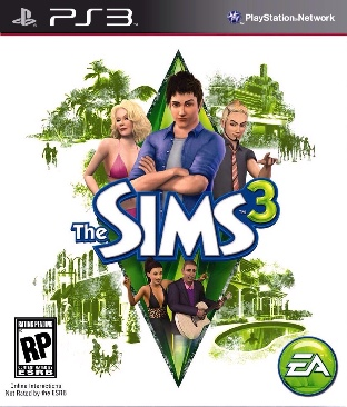 The Sims 3 - PS3 cover