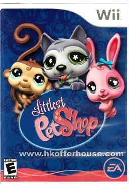 Littlest Pet Shop - Wii cover