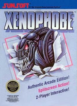 Xenophobe - NES cover
