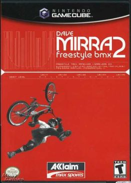 Dave Mirra Freestyle B.M.X. 2 - Gamecube cover