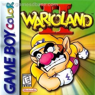 Wario Land 2 - Game Boy Color cover