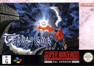 Terranigma Repro - Super NES cover