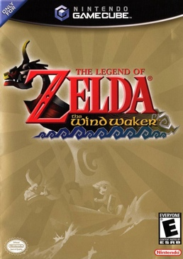 The Legend of Zelda: The Wind Waker - Gamecube cover