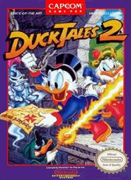 Duck Tales - NES cover