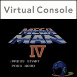 Mega Man 4 - 3DS cover