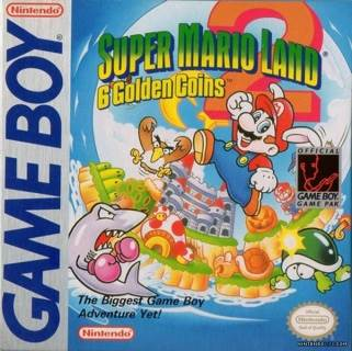 Super Mario Land 2: 6 Golden Coins - Game Boy cover