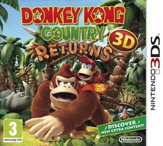 Donkey Kong Country Returns - 3DS cover