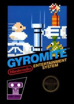 Gyromite - NES cover