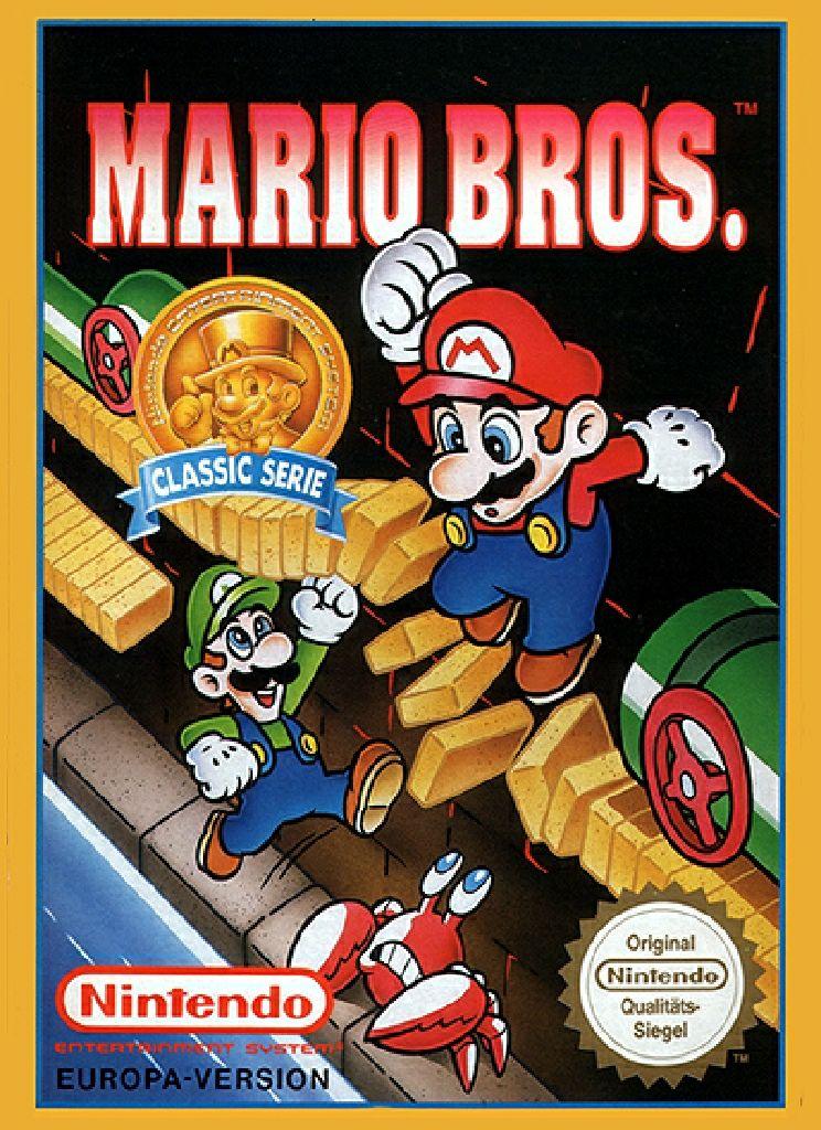 Mario Bros. - NES cover