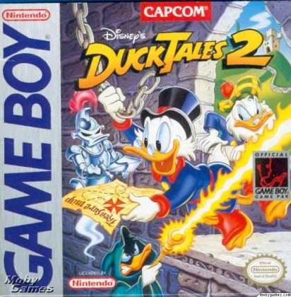Duck Tales 2 - Game Boy cover