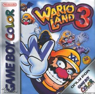 Wario Land 3 - Game Boy Color cover