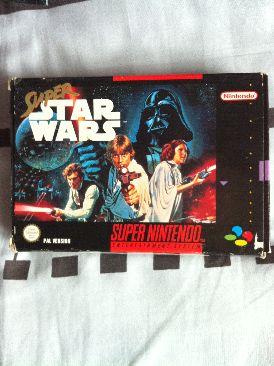 Super Star Wars - Super NES cover