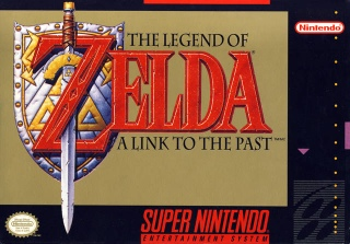 The Legend of Zelda: A Link to the Past - Wii Virtual Console cover