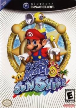 Super Mario Sunshine - Gamecube cover