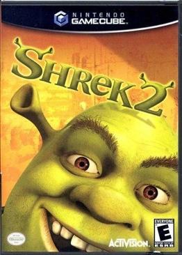SHREK 2 - Gamecube cover