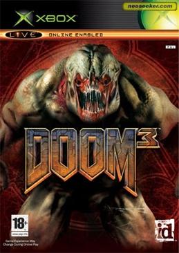 Doom 3 - Xbox cover