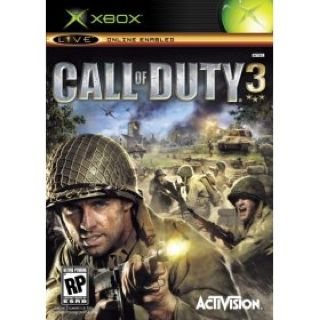 Call Of Duty 3 - Xbox cover