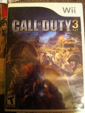Call Of Duty 3 - Wii cover